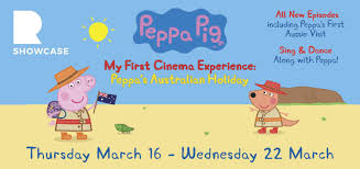 adventures of the little koala ritz cinema peppa pig my first cinema experience peppa u0027s