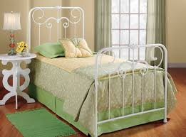 white metal twin bed frame luxury white metal twin bed for