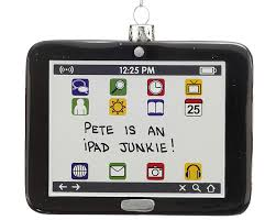 tablet computer personalized ornament