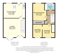 west quay floor plan 2 bedroom terraced house for sale in wallace road southampton