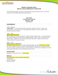 Retail Associate Resume Sample by Charming Foot Locker Sales Associate Resume 81 For Resume
