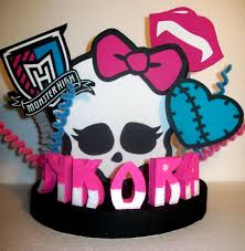 high cake topper high skullette custom 3d cake topper centerpiece