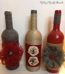 25 unique decorative wine bottles ideas on decorating