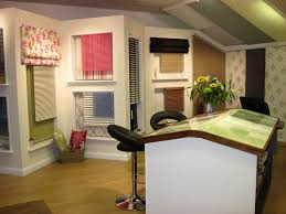 In Store Curtains Blinds Blinds And Drapery Showroom Curtains Bedding Co In Store