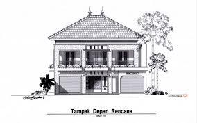 desain tampak depan rumah minimalis contoh gambar rumah