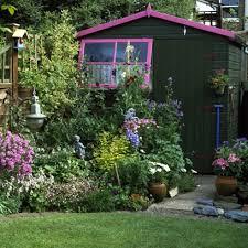 sheds u0026 summerhouses garden decorating ideas red online
