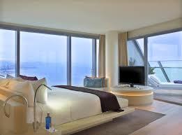 chambre barcelone hotel w barcelone chambre et terrasse hotels