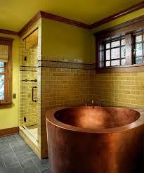 gold bathrooms 17 gold bathroom designs with copper bathtub