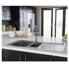 kitchen sink phoenix carron phoenix adelphi 150 stainless steel kitchen sink