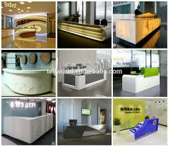 Salon Reception Desk Furniture Office Furniture Modern Front Desk Simple Design Reception