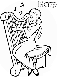 free music coloring pages coloring home