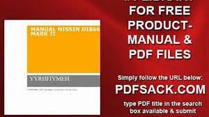 manual nissin di866 mark ii video dailymotion