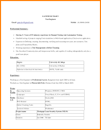 Apa Resume Template Free Simple Resume Format Download Free Resume Example And