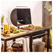 Ikea Trolley by Klasen Charcoal Barbecue With Trolley Stainless Steel Ikea