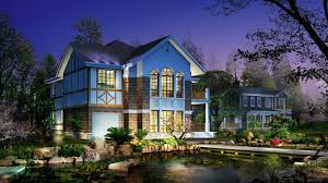New Home Design Magazines Home Design Modern House Architecture Landscape With Blue Exterior