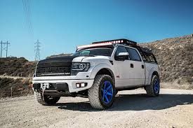 Ford Raptor Accessories - this ford raptor is now a 590 hp camping vehicle