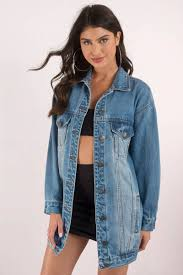 Light Denim Jacket Cute Light Wash Jacket Oversized Jacket Blue Jacket 98