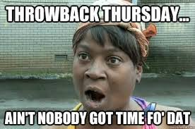 Throwback Thursday Meme - basketball archives