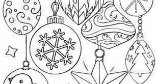 ornament coloring sheets free archives cool coloring