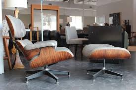 vintage eames lounge chair and ottoman wonderful original rosewood and grey leather eames lounge chair and