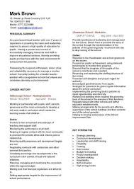 Best Teaching Resumes by Teachers Resume Template Billybullock Us