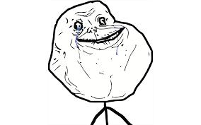 Alone Meme - forever alone meme white background walldevil