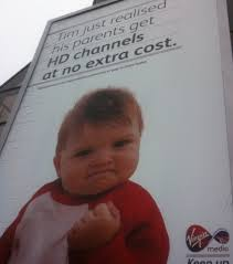 Success Baby Meme - the success baby meme appears on billboards success baby