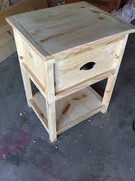 Free Shaker End Table Plans by Free Nightstand Plans For Your Bedroom
