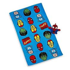 Superhero Bathroom Sets by Avengers 4 Piece Embroidered Bath Towel Set By Pollysaprons For