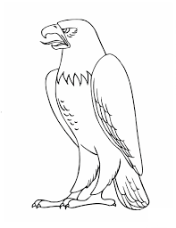 eagle coloring pages for kids preschool and kindergarten