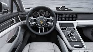 black porsche panamera interior 2017 porsche panamera turbo executive interior cockpit hd