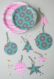 diy christmas gift tags made from paper plates
