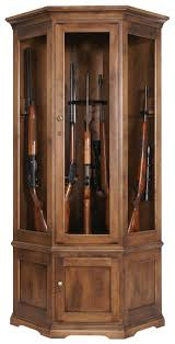 best place to buy gun cabinets traditional american made corner gun cabinet with carousel