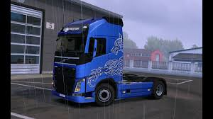 volvo heavy haulage trucks for sale euro truck simulator 2 paint wolf light volvo fh16 2012 8x4 for