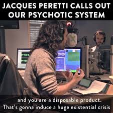 Jacques Meme - russell brand jacques peretti calls out our psychotic