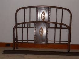 wooden bed frames as king bed frame and trend antique iron bed