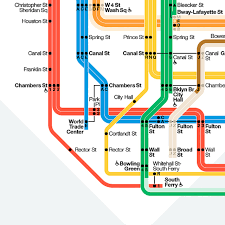 Nyc Mta Map Infographic Of The Day Nyc Finally Builds A Better Subway Map