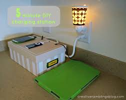 homemade charging station diy charging station home design and decor
