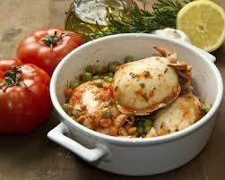 cuisiner la seiche fraiche recette seiche aux tomates et aux petits pois