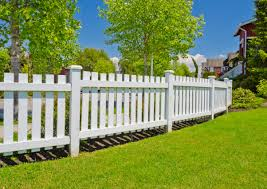 Home Design Types Outdoor U0026 Landscaping Fancy White Wooden Picket Fence Wall Border