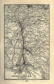 Map Of Northern Ohio by Mobile And Ohio Railroad Wikipedia