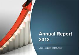 annual report ppt template to make an annual report using powerpoint templates
