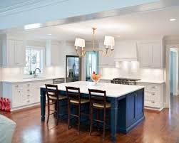 houzz kitchen islands with seating blue kitchen island houzz