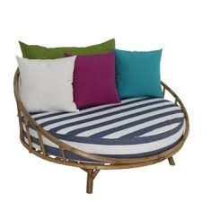 outdoor round daybed cushions wayfair