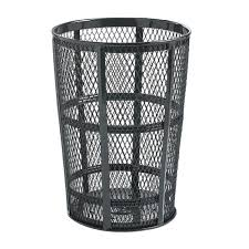 half round trash cans moon can semi 18 inch and 24 recy ooferto