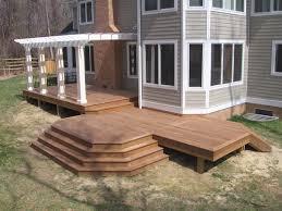 wood decks wooden deck builder anne arundel county mid atlantic