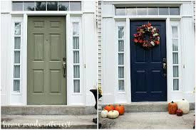 Painting Exterior Door Tips In Painting Exterior Door Euprera2009
