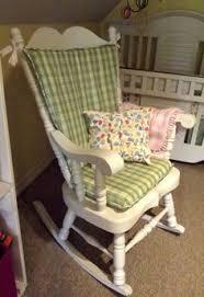 Rocking Chair Covers For Nursery Custom Chair Cushions Glider Cushions Rocking Chair Cushions By