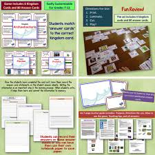 amy brown science classification and taxonomy reviewing