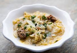 italian sausage and cabbage stew recipe simplyrecipes